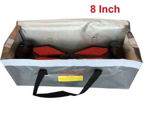 HoverCover Fire Resistant Hoverboard Bag LiPo Guard Bag 6.5/8 inch Self Smart Wheel Skateboard  Charging Prevent Fire Accident - ManSeeManWant