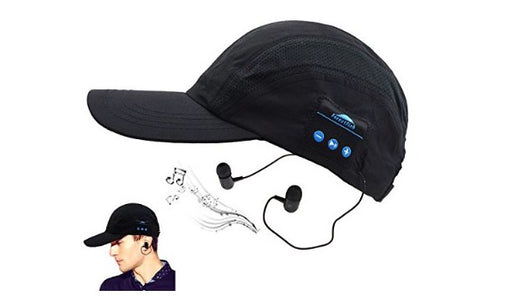 Bluetooth speakers baseball cap hat - ManSeeManWant