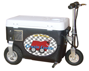 Cruzin' Cooler Motorized Scooter - ManSeeManWant