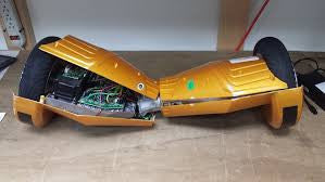 Hoverboard Repair Services Replace Metal Frame Plus two way shipping - ManSeeManWant