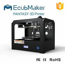 eCubmaker Fantasy II 3d Printer -dual extruder, ABS, PLA, HIPS & more - ManSeeManWant