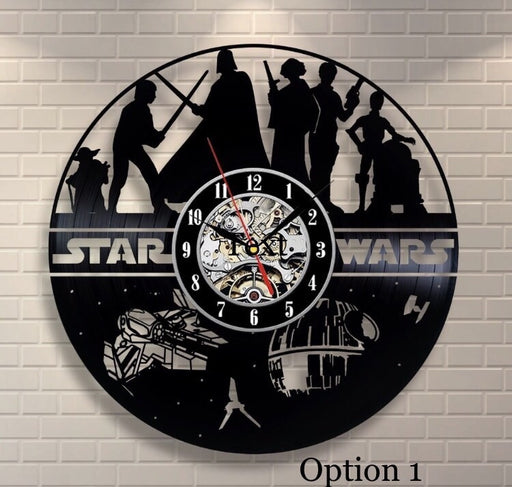 Star Wars Wall Clock Broken Record - ManSeeManWant