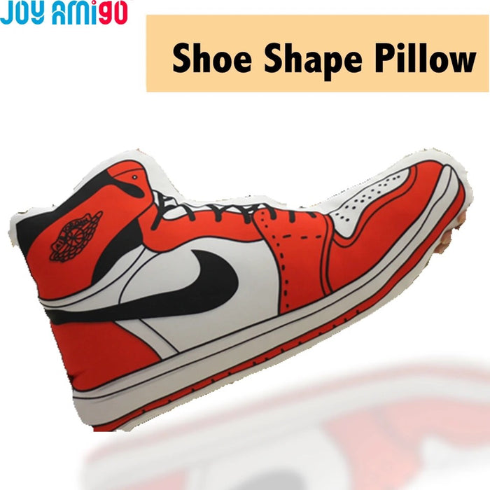 Funny Simulation Plush Throw Pillow Soft Cushion Toy Shoes Shaped