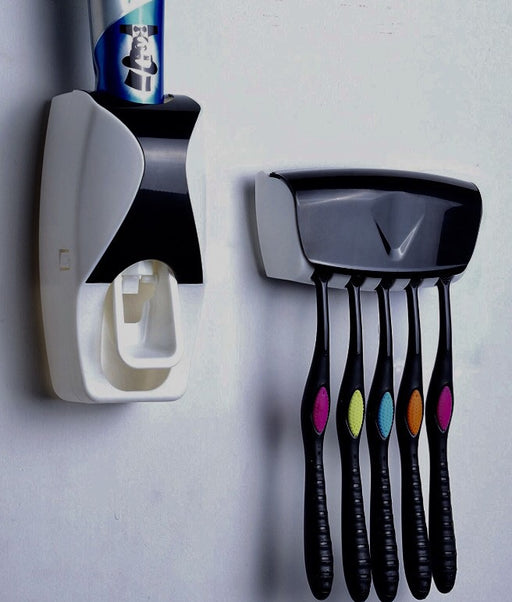 Automatic Toothpaste Dispenser and Holder - ManSeeManWant