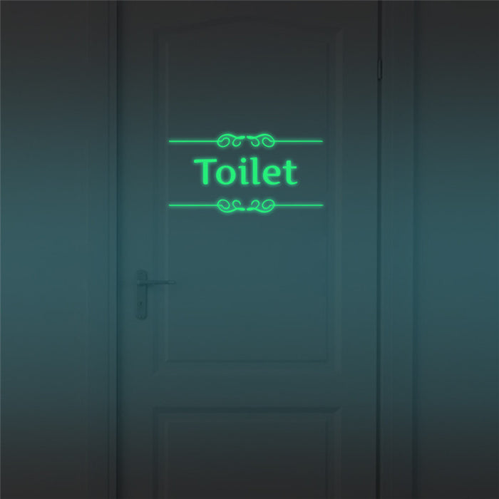 Funny Sticker Luminous Home Toilet poster  Waterproof - ManSeeManWant