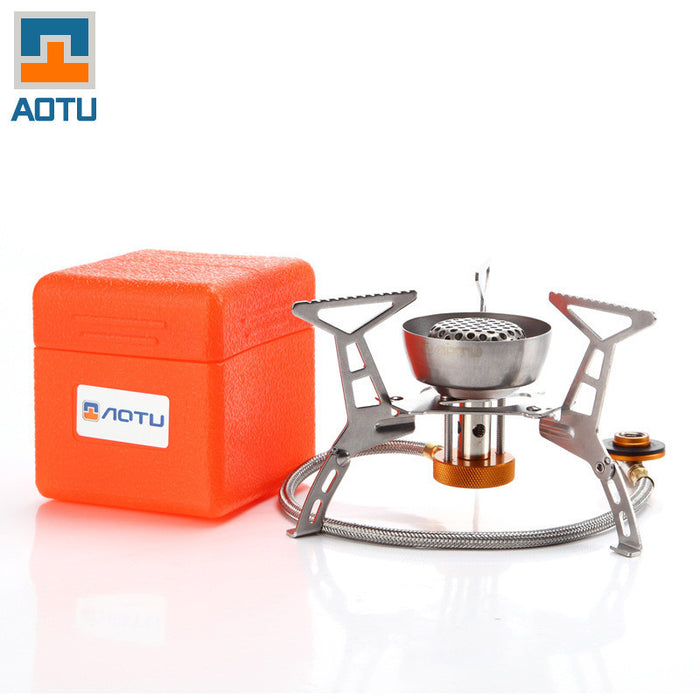 Hiking BBQ Split Portable Camping Stove Gas - ManSeeManWant