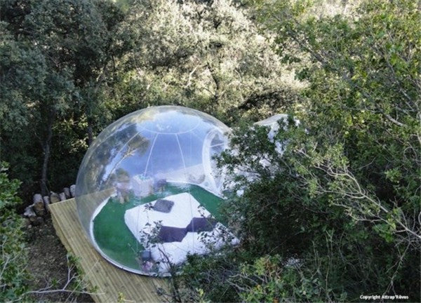 Inflatable Tent Dome Room tent with 1 Tunnel Camping - ManSeeManWant