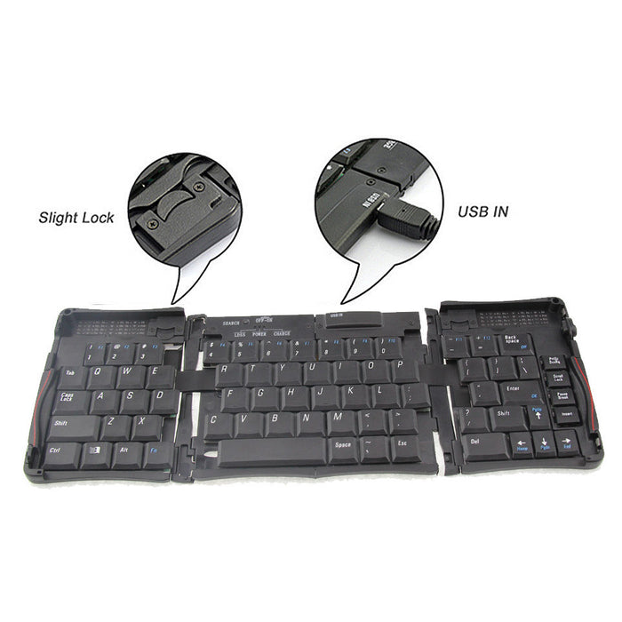 Mini Bluetooth Foldable Keyboard