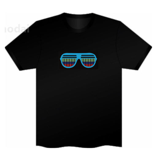 17f971402 Sound Activated LED T Shirt Light Up