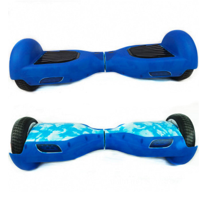 Hoverboard Silicone Cover Shell Protector 6.5 Inch 2 Wheel Smart Self Balancing Electric Scooter - ManSeeManWant
