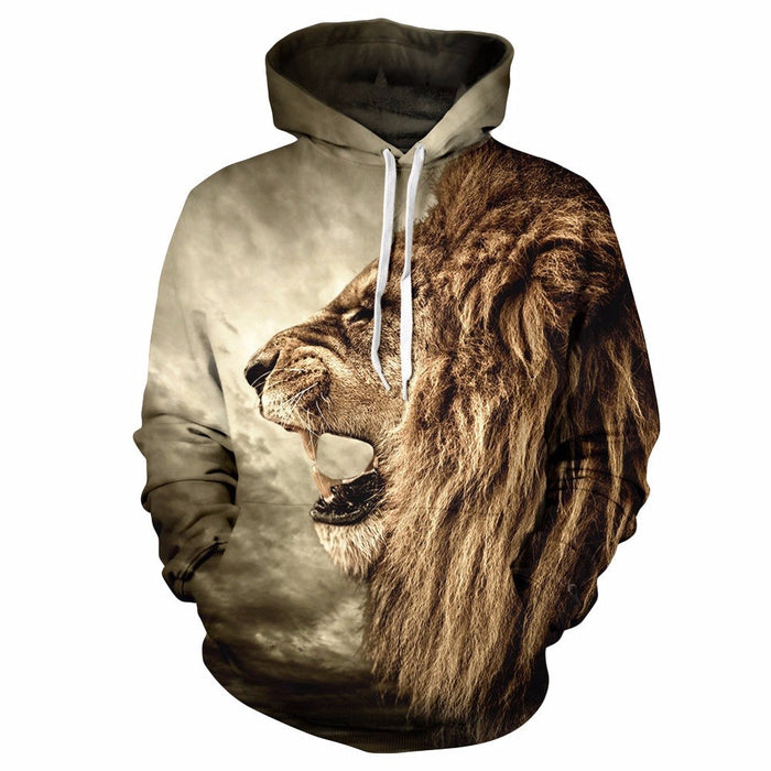 3D Funky Funny Shirts Sweatshirts with Hoodies - ManSeeManWant