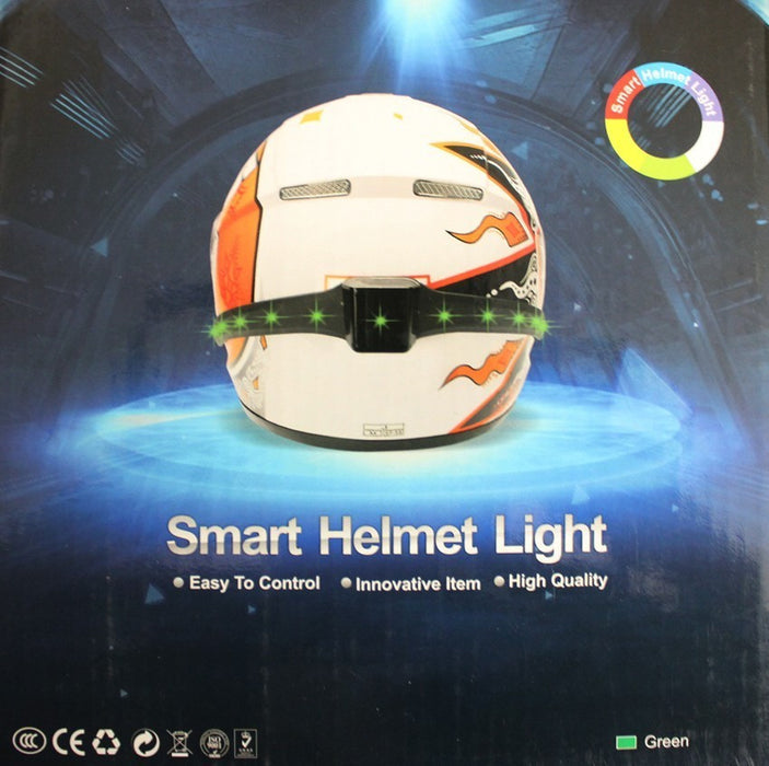 Wireless Motorcycle Smart Helmet Running Lights Brake Lights Turn Signal Indicators