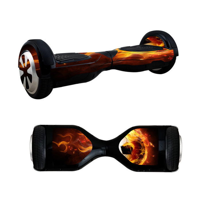 "Flames Hoverboard 6.5"" Protective Adhesive Vinyl Skin"