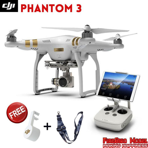 Original DJI Phantom 3 with 2.7K / 4K Full HD camera built in GPS system
