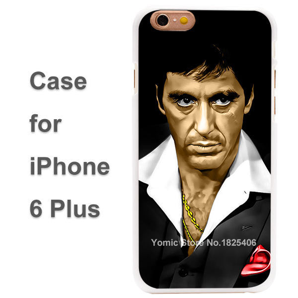 tony montana scarface Case Cover for iPhone 4 4s 4g 5 5s 5g 5c 6 6s 6 Plus