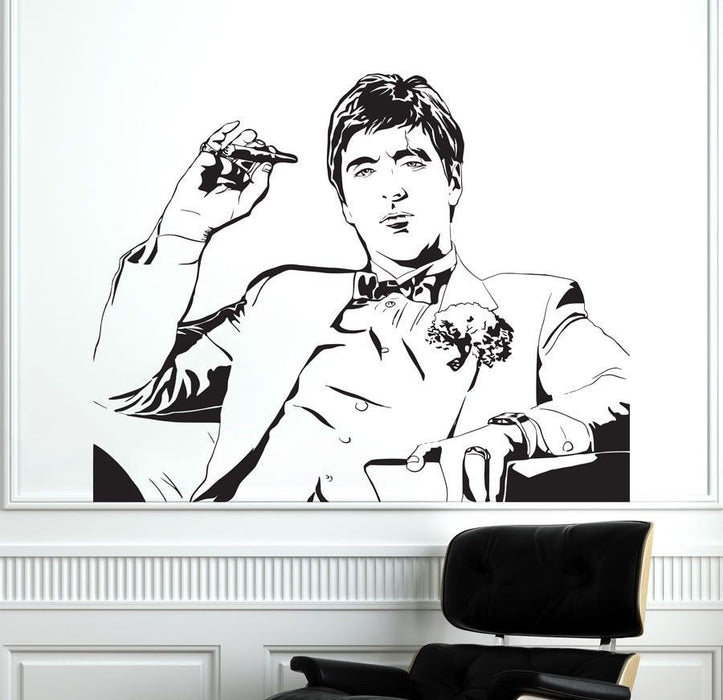 Tony Montana Scarface Wall Decal