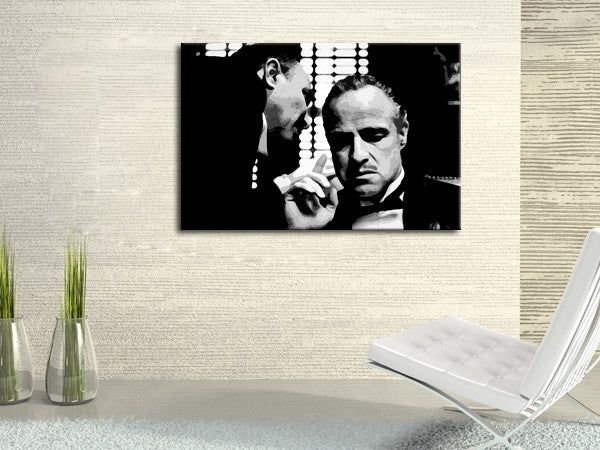 Godfather poster canvas