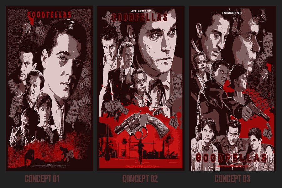 GOODFELLAS CLASSIC MOVIE POSTER  Canvas - ManSeeManWant