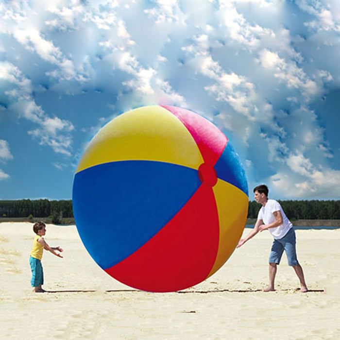 2M Giant Inflatable Colorful Beach Ball