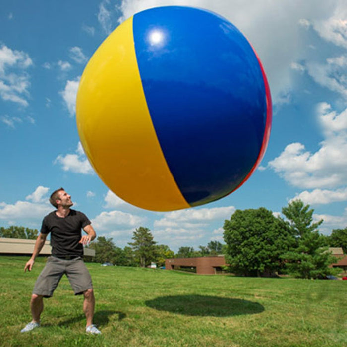 2M Giant Inflatable Colorful Beach Ball - ManSeeManWant