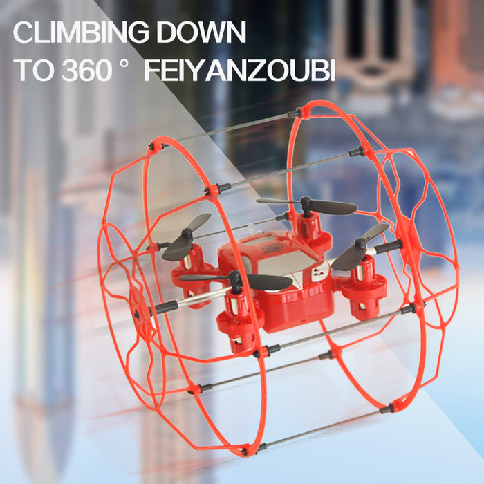 FY802 Mini 2.4Ghz 4CH RC Wall Climbing Helicopter Drone - ManSeeManWant