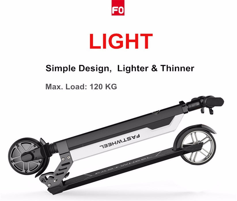FO folding carbon fiber electric scooter 7.8KG - ManSeeManWant