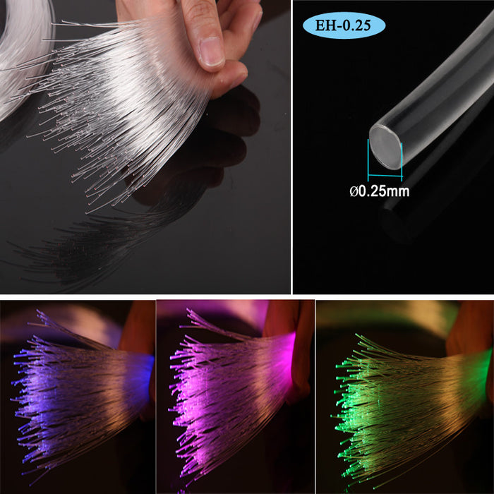 decorative plastic fiber optic light costume cloth - ManSeeManWant