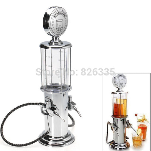 Vintage Gas Station Drink Dispenser Bartending Beer Machine with Double Pumps - ManSeeManWant