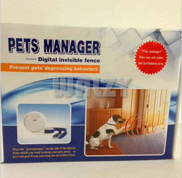 Pet indoor electronic fence dog wireless smart home pet fencing system - ManSeeManWant