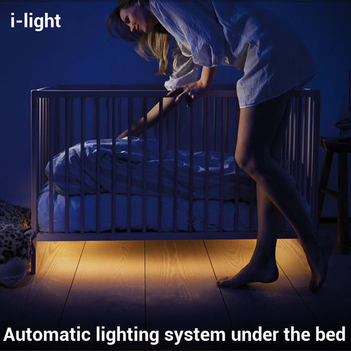 i-light Motion Sensing LED Bed Lights Bedroom Baby - ManSeeManWant