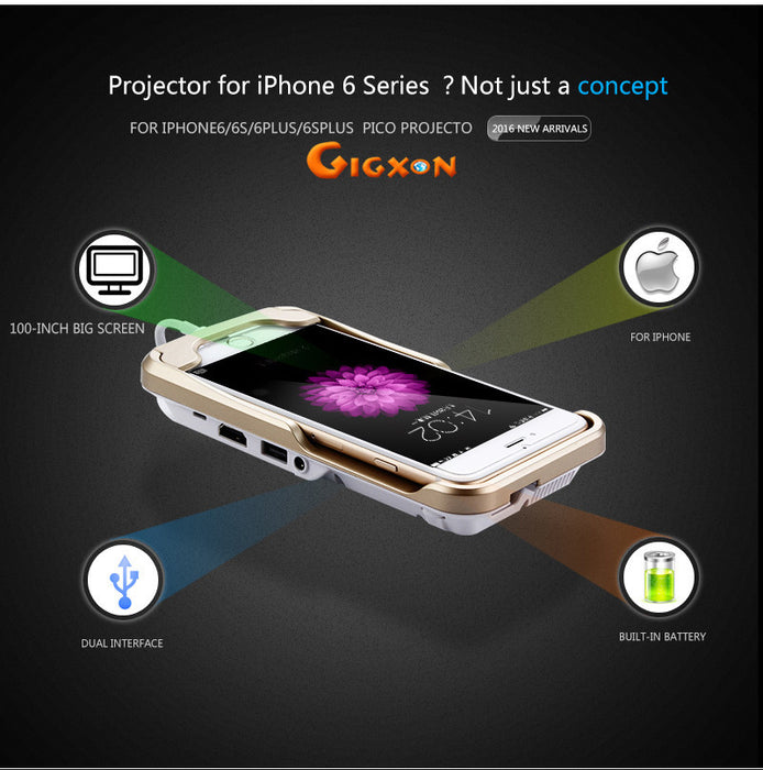 Gigxon - G6+ Projector for iPhone 6 Series - ManSeeManWant