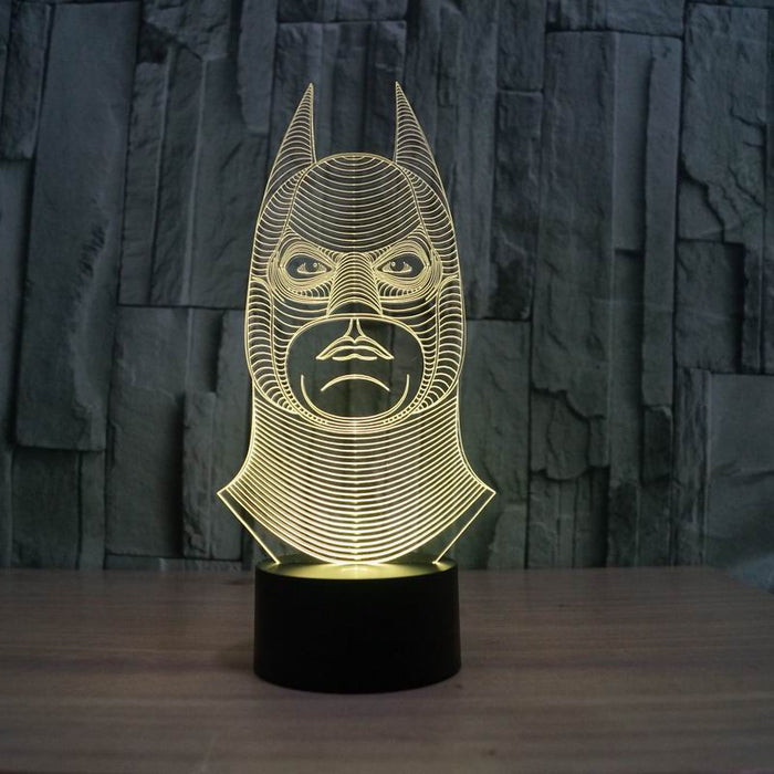 Batman Amazing 3D Illusion led light - ManSeeManWant