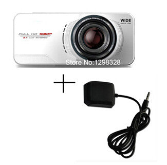Car Camera Video Recorder  DVR External GPS Tracker - ManSeeManWant