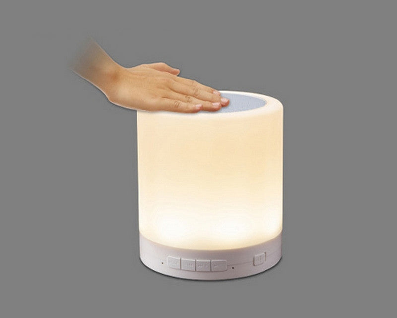 Bluetooth Speaker+ Color Change Touch Lamp - ManSeeManWant