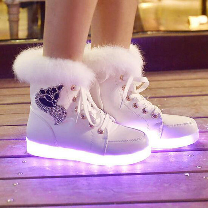LED Ankle Shoes  Women - ManSeeManWant