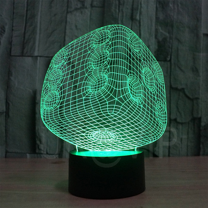 JC-2847 Amazing 3D Illusion led Table Lamp Night Light with  dice shape - ManSeeManWant