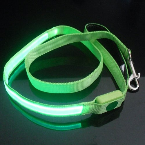 Optical Fiber Dog Tether LED Flash For Small Pets