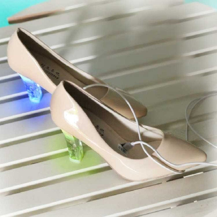 High-heeled Shoes Women LED Luminous Shoes - ManSeeManWant