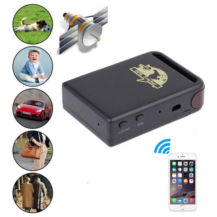 Hot marking  Mini SPY Vehicle GSM GPRS GPS Tracker Car Vehicle Tracking Locator Device TK102B N8 - ManSeeManWant