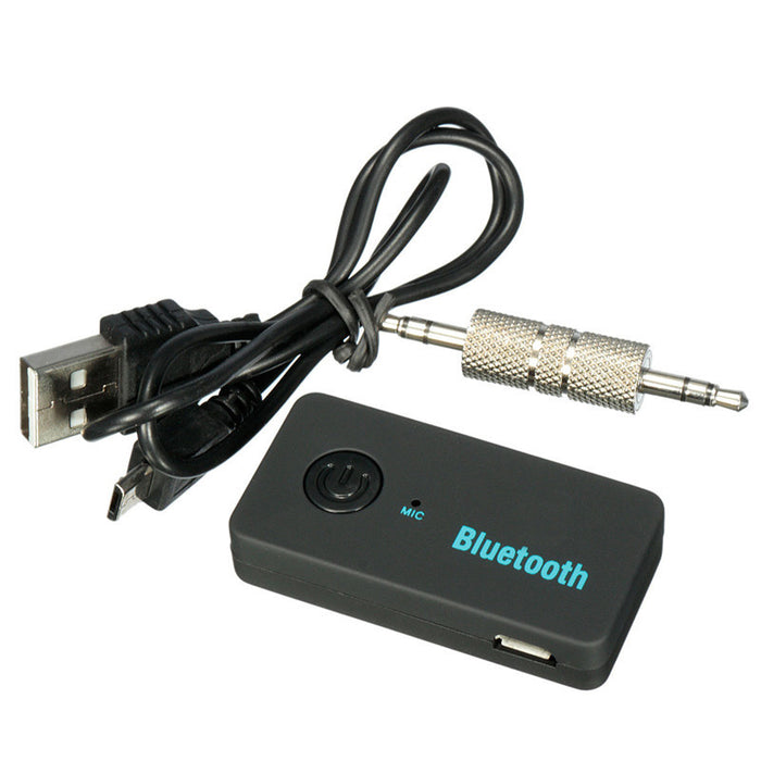 Wireless Bluetooth Kit Handfree Stereo Car AUX Audio Music Receiver univeral for iPhone for all Mobile Phone - ManSeeManWant