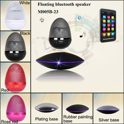 Speaker Floating Rotating Bluetooth - ManSeeManWant
