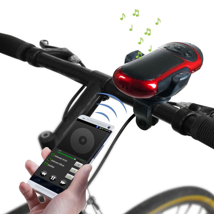 Bicycle Handlebar Bluetooth Speaker/Light/Radio - ManSeeManWant