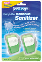 Dr Tung's Snap-On Toothbrush Sanitizer