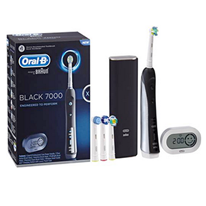 Oral-B Precision Black 7000 Re-Chargeable toothbrush, Orab-B, Precision, Black