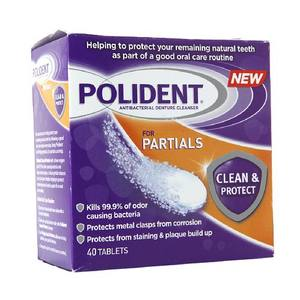 Polident for Partials Clean & Protect Cleanser