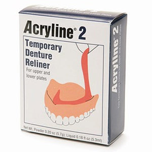 Acryline Temporary Denture Reliner