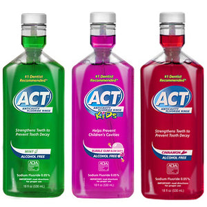 ACT Anticavity Fluoride Rinse
