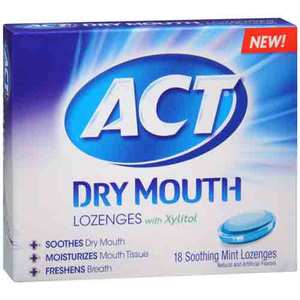 ACT Dry Mouth Lozenges with Xylitol