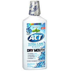 Act Total Care Anticavity Fluoride Rinse for Dry Mouth