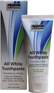 Value Pack: Dr.Collins All White Whitening Toothpaste